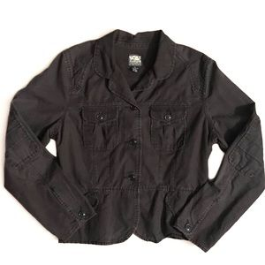 Lucky Brand Dark Brown Utility Jacket XL